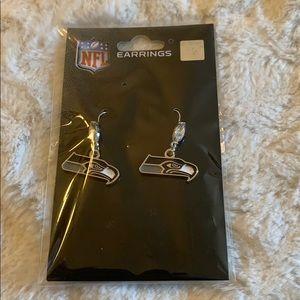 Brand new! Seattle Seahawks earrings